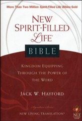 NLT New Spirit Filled Life Bible, Hardcover - Slightly Imperfect