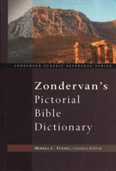 Zondervan's Pictorial Bible Dictionary  - Slightly Imperfect