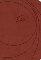 NLT New Spirit Filled Life Bible, Leathersoft, brick red - Imperfectly Imprinted Bibles