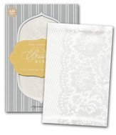 KJV Bride's Bible, Leathersoft, white