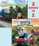 Dinos & Discoveries/Emily Saves the World ( Thomas & Friends) - eBook