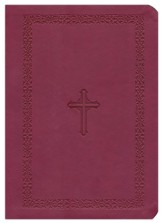 NASB MacArthur Study Bible, Leathersoft, cranberry