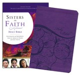 KJV Sisters in Faith Holy Bible--soft leather-look, grape (indexed)