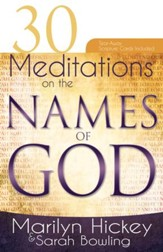 30 Meditations on The Names Of God - eBook