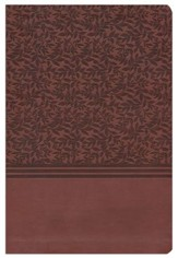 NIV The Woman's Study Bible--soft leather-look, auburn - Imperfectly Imprinted Bibles