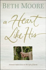 A Heart Like His: Intimate Reflections on the Life of David, Paperback Edition - Slightly Imperfect