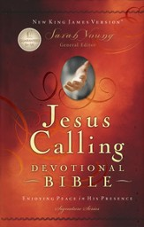 NKJV Jesus Calling Devotional Bible, Padded hardcover