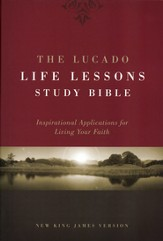 The NKJV Lucado Life Lessons Study Bible, Hardcover
