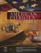NKJV American Patriot's Bible, Bonded leather, blue