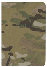 NKJV American Patriot's Pocket Bible, flexible cloth, camoflage