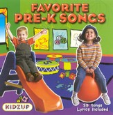 Favorite Pre-K Songs CD