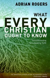 What Every Christian Ought to Know: Solid Grounding for a Growing Faith, Hardcover