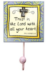 Trust in the Lord Wall Hook