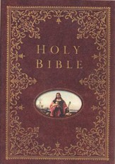 NKJV Providence Collection Family Bible, hardcover--indexed
