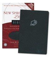 NLT New Spirit Filled Life Bible, Bonded Leather, black-indexed