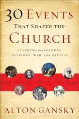 30 Events That Shaped the Church: Learning from Scandal, Intrigue, War, and Revival - eBook