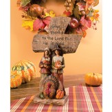 Pilgrims, Harvest Tabletop Cross