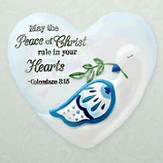 May the Peace of Christ, Heart Expressions Stone