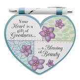 Heart Shaped Notepad and Pen Set, Someone Special