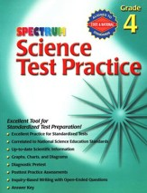 Spectrum Science Test Practice Grade 4
