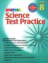 Spectrum Science Test Practice Grade 8