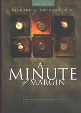 A Minute of Margin: Restoring Balance to Busy Lives - eBook