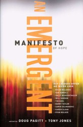 An Emergent Manifesto of Hope (hardcover)