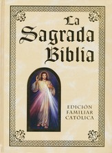 Deluxe Spanish Illustrated Catholic Family Bible; Lujo Espaqol Ilustrado Biblia Catslica Familiar