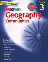 Spectrum Geography, 2007 Edition, Grade 3  - Slightly Imperfect