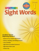Spectrum Sight Words Grade 1