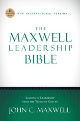 The Maxwell Leadership Bible, NIV - eBook