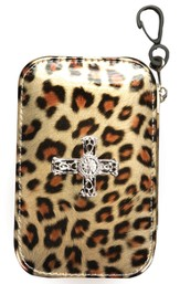 Leopard Design with Cross Emergency Kit