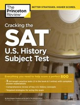 Cracking the SAT U.S. History Subject Test - eBook