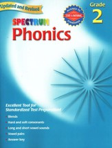 Spectrum Phonics, 2007 Edition, Grade 2