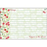 Rejoice in the Lord, Recipe Cards, Pack of 20