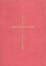 1979 Book of Common Prayer, Personal Edition, Imitation Leather, Red