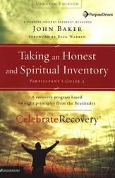 Taking an Honest and Spiritual Inventory: Participant's Guide #2, Celebrate Recovery Program  - Slightly Imperfect