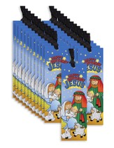 Happy Birthday Jesus Bookmarks, Pack of 24