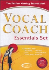Vocal Coach Essentials 5 CD Set