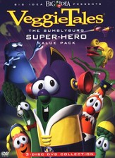 The Bumblyburg Superhero Value Pack DVD's: The Rumor Weed, Dave and the Giant Pickle & The Fib from Outer Space
