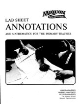 Miquon Math: Lab Sheet Annotations