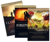 Fireproof, Facing the Giant,s and Flywheel, paperbacks 3 pack