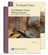 The Elegant Essay Writing Lessons: Building Blocks for Analytical Writing, Updated--Teacher/Student Combo