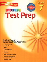 Spectrum Test Prep, 2007 Edition, Grade 7