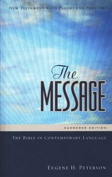 The Message New Testament w/ Psalms and Proverbs - eBook