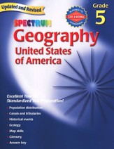 Spectrum Geography, 2007 Edition, Grade 5