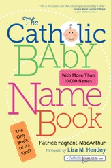 The Catholic Baby Name Book - eBook