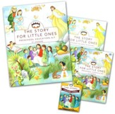 The Story for Little Ones with CDROM: Preschool   Educator Kit, 31 Lessons
