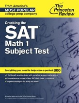 Cracking the SAT Math 1 Subject Test - eBook