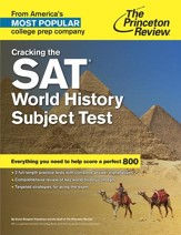 Cracking the SAT World History Subject Test - eBook